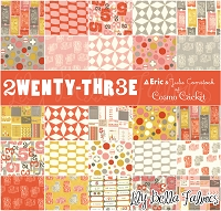 2wenty-Thr3e by Eric & Julie Comstock of Cosmo Cricket