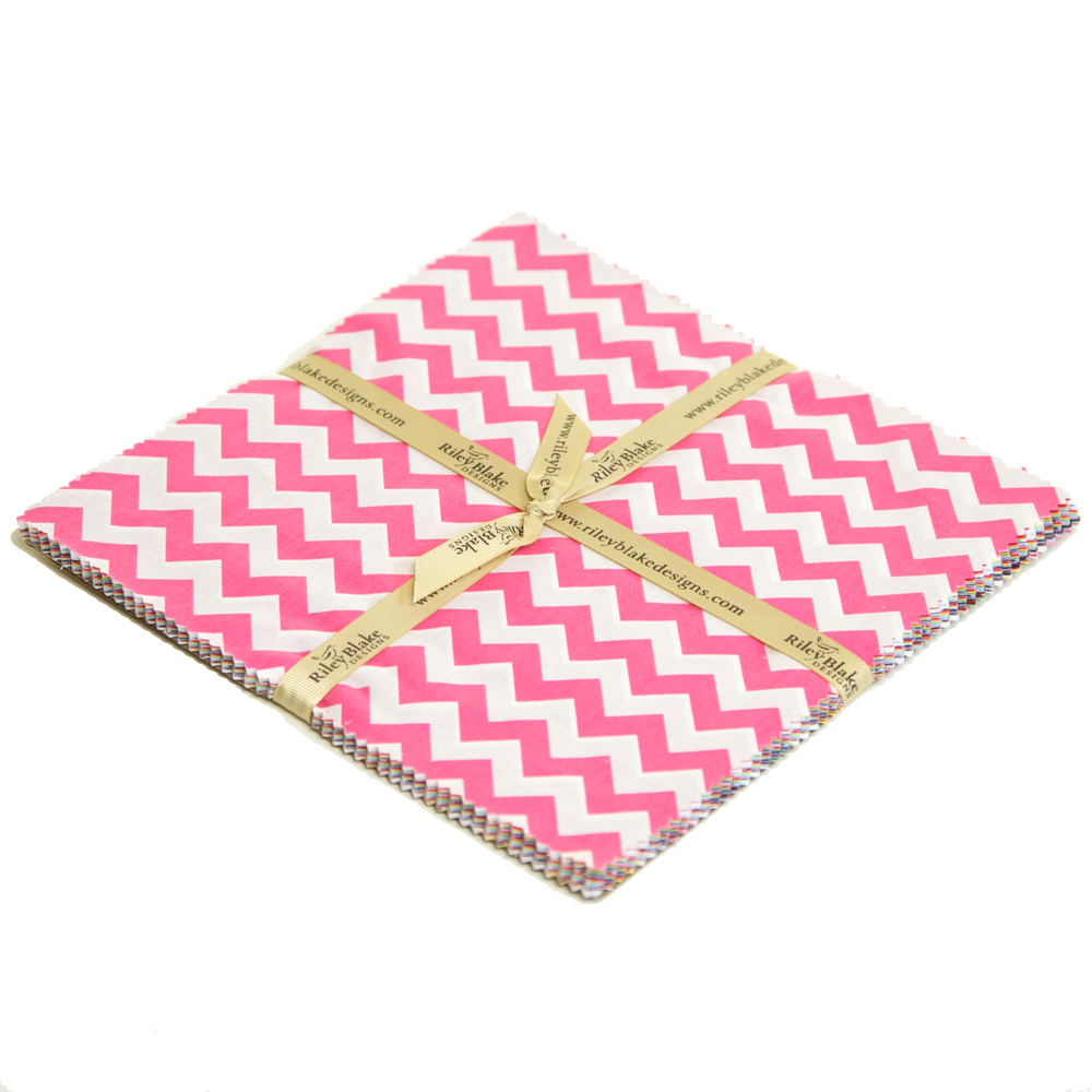Small Chevron Layer Cake Riley Blake Chevron Cottons