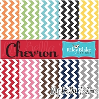 Chevron Cottons by Riley Blake House Designer