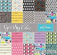 Geekly Chic by Dorothy Tsang, Amy Adams and Riley Blake House Designer