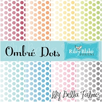 Ombre Dots by Riley Blake House Designer