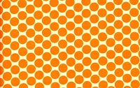 Full Moon Polka Dot in Tangerine - Amy Butler - Lotus