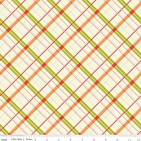 Plaid in Green - Emily Taylor Design - Avignon