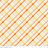 Plaid in Yellow - Emily Taylor Design - Avignon