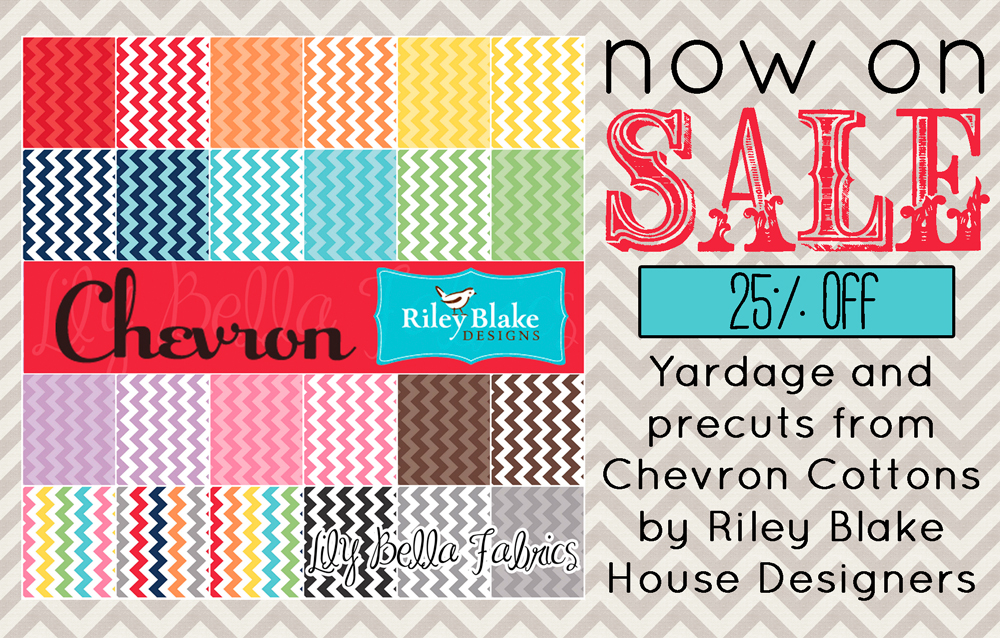 On Sale:  Chevron Cottons