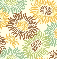 Graphic Mums in Brown - Heather Bailey - Freshcut 2011