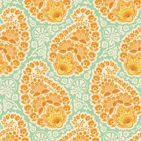 Paisley in Amber - Joel Dewberry - Heirloom