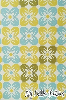 Square Petals in Citron - Joel Dewberry - Notting Hill