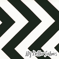 Zig Zag in Black - Moda House Designer - Half Moon Modern