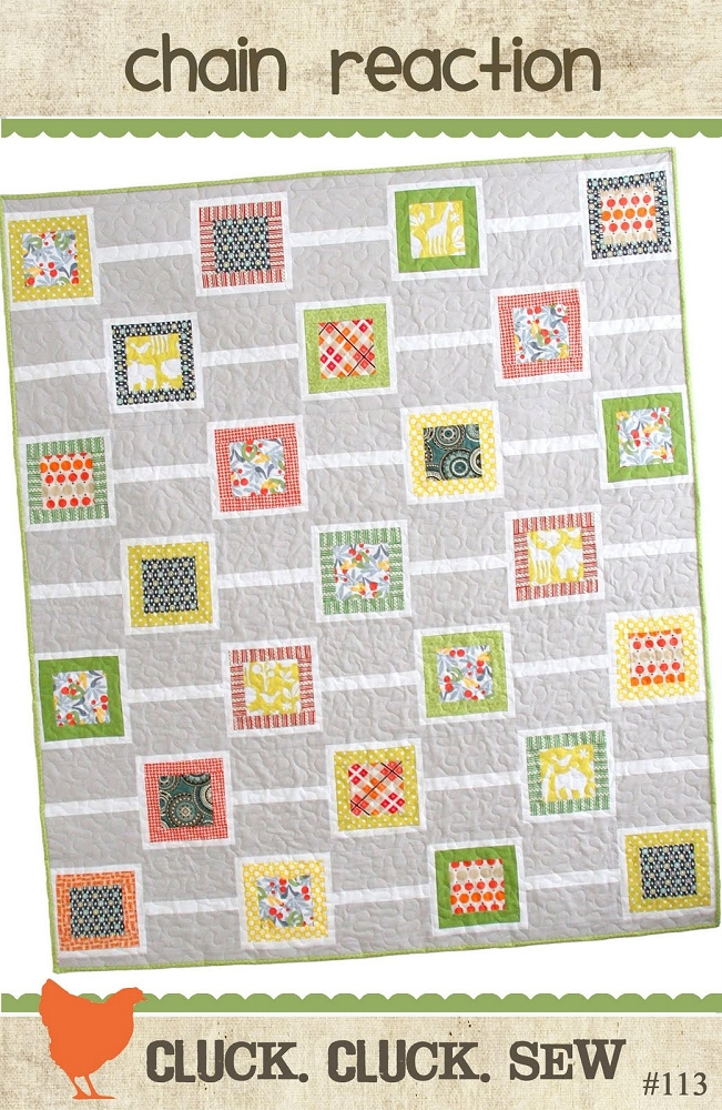 Reaction Pattern Chain Reaction Quilt Pattern