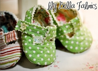 Quilted Baby T-Strap Shoes Sewing Pattern - Curby's Closet