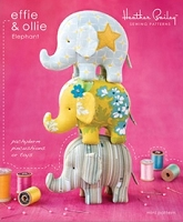 Effie & Ollie Elephant Mini Sewing Pattern - Heather Bailey