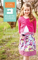Junior Meadow Spirit Skirt Sewing Pattern - Joel Dewberry