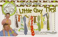 Little Guy Ties Sewing Pattern - Little Londyn
