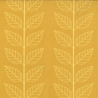 Leafy Stripe in Mustard - V and Co. - Simply Color