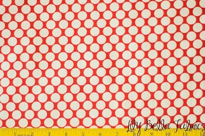 Full Moon Polka Dot in Cherry - Amy Butler - Lotus