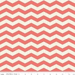 Chevron in Coral - Fancy Pants Designs - Trendsetter