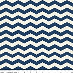 Chevron in Navy - Fancy Pants Designs - Trendsetter