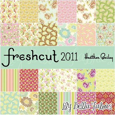 Freshcut 2011 Design Roll / Jelly Roll - Heather Bailey