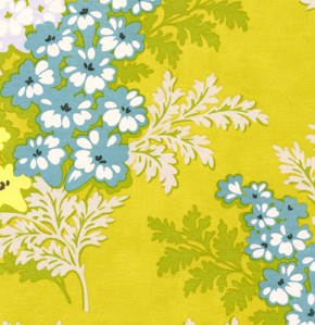 Picnic Bouquet in Gold - Heather Bailey - Nicey Jane