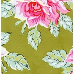 Hello Roses in Olive - Heather Bailey - Nicey Jane