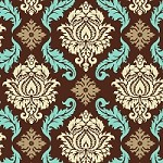Damask in Bark - Joel Dewberry - Aviary 2