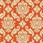 Damask in Saffron - Joel Dewberry - Aviary 2