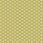 Lodge Lattice in Vintage Yellow - Joel Dewberry - Aviary 2