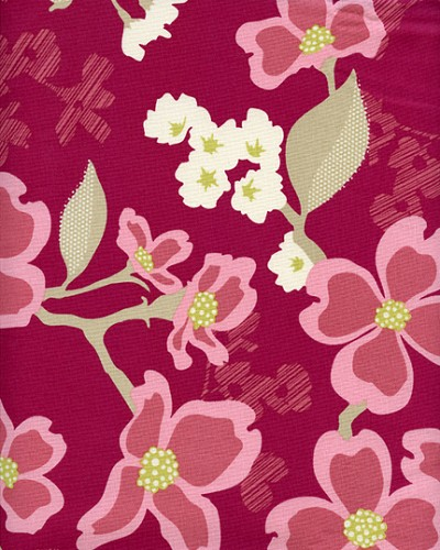 Dogwood Bloom in Berry - Joel Dewberry - Modern Meadow