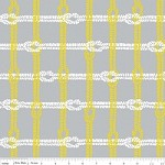 Knotty Plaid in Gray - Marin Sutton - Maritime Modern