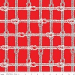 Knotty Plaid in Red - Marin Sutton - Maritime Modern