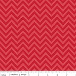 Sweetest Chevron in Red - Zoe Pearn for My Mind's Eye - The Sweetest Thing
