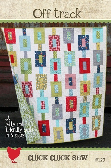 Off Track Quilt Pattern - Cluck Cluck Sew