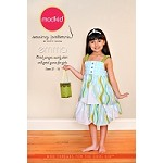 Emma - Petal Jumper, Swirly Skirt and Petal Purse Sewing Pattern - Modkid by Patty Young