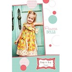 Princess Bella Dress or Top Sewing Pattern - Izzy & Ivy Designs