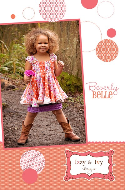 Beverly Belle Top Sewing Pattern - Izzy & Ivy Designs
