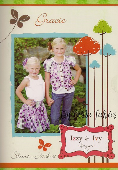 Gracie Skirt / Jacket Sewing Pattern - Izzy & Ivy Designs
