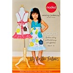 Naomi - Sundress and Top with Braided Straps and Ruffled Hem Sewing Pattern - Modkid by Patty Young