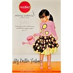 Julia - Double-layer Twirl Skirt with Drawstring Sewing Pattern - Modkid by Patty Young