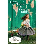 Flora Tunic & Twirly Skirt Sewing Pattern - Sew Liberated