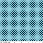 Small Dots in Tone on Tone Navy - Riley Blake House Designer - Cotton Dots