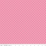 Small Dots in Tone on Tone Hot Pink - Riley Blake House Designer - Cotton Dots