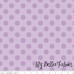 Medium Dots in Tone on Tone Lavender - Riley Blake House Designer - Cotton Dots