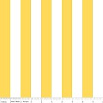 1 Inch Stripe in Yellow - Riley Blake House Designer - Cotton Stripes