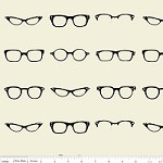 Geekly Glasses in Off White - Amy Adams, Dorothy Tsang, and Riley Blake House Designer - Geekly Chic