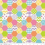 Hexi in Girl - Riley Blake House Designer - Hexi Print