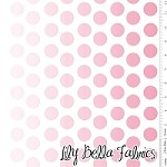 Ombre Dot in Hot Pink - Riley Blake House Designer - Ombre Dots
