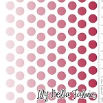 Ombre Dot in Red - Riley Blake House Designer - Ombre Dots