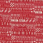 The Block in Apple Red - Sweetwater - Mama Said Sew