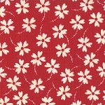 Lazy Daisy in Apple Red - Sweetwater - Mama Said Sew